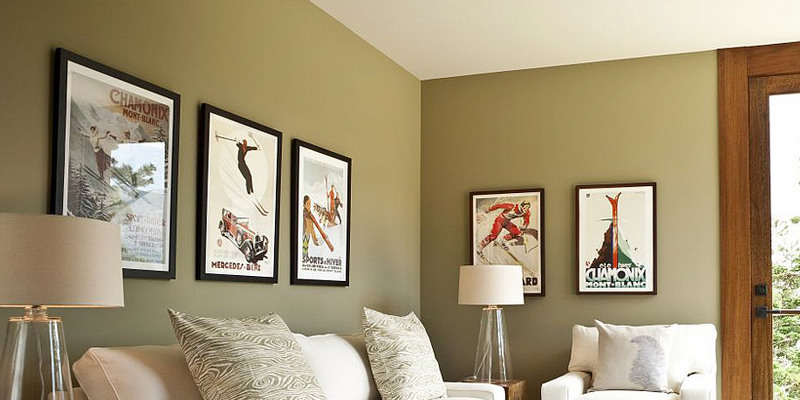 Monochromatic Color Schemes A Room Using